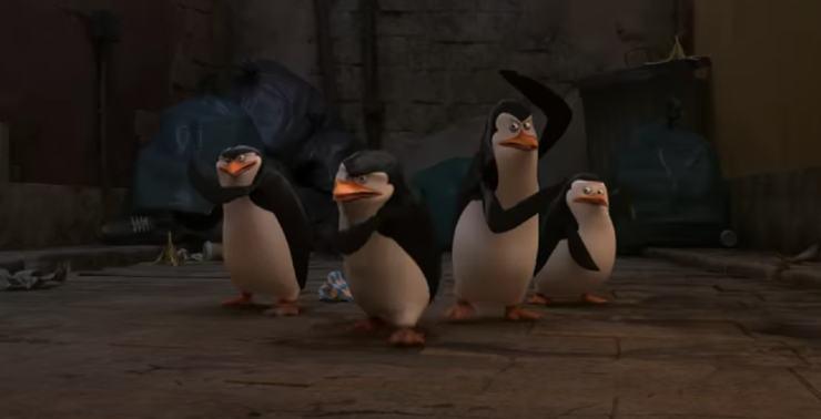 Penguins of Madagascar: the movie