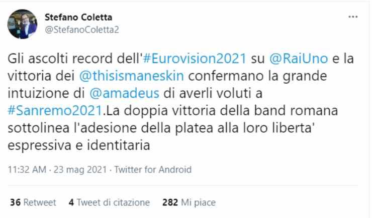 S. Coletta (Twitter)