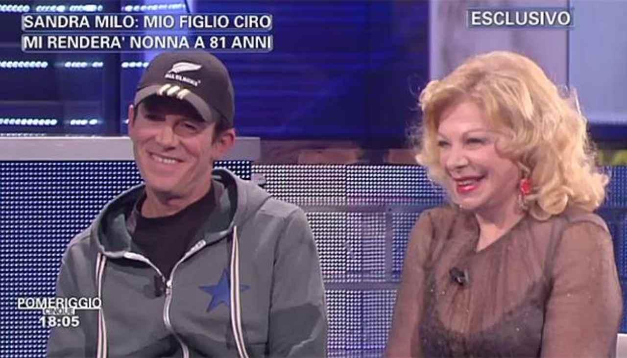 Ciro De Lollis figlio Sandra Milo