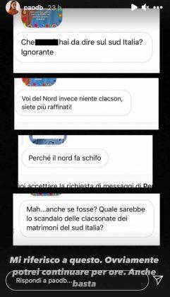"""Paola Di Benedetto lapidaria: lei non ci sta """"...fine a questa polemica"""""""