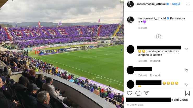 Marco Mașini: quelle intese parole sul capitano della squadra del cuore