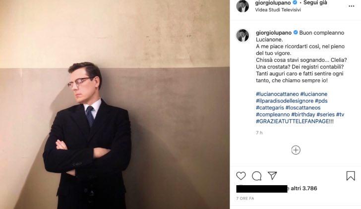 """Giorgio Lupano, gli auguri emozionano: """"a me piace ricordarti così"""""""