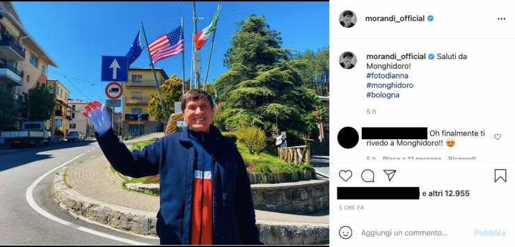 Gianni Morandi, il ritorno alle sue radici: quel dettaglio non sfugge