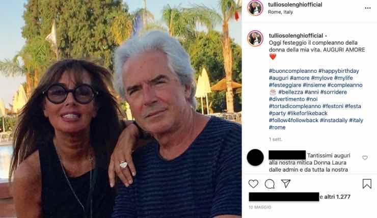 """Tullio Solenghi e Laura: """"Era destino"""", come si sono conosciuti?"""