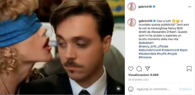 """Gabriele Cirilli, quella lacrime d'amore: """"Ogni santo giorno!"""""""