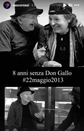 Vasco Rossi commuove i fan: il dolce ricordo per l'amico scomparso