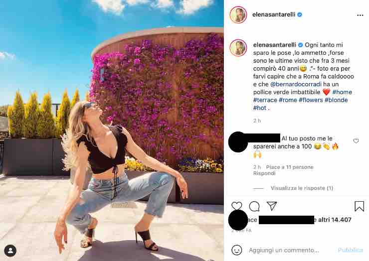 """Elena Santarelli 'traguardo' in arrivo: """"forse sono le ultime visto che..."""""""