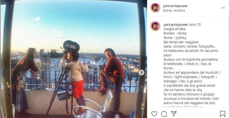 Yari Carrisi (Instagram)