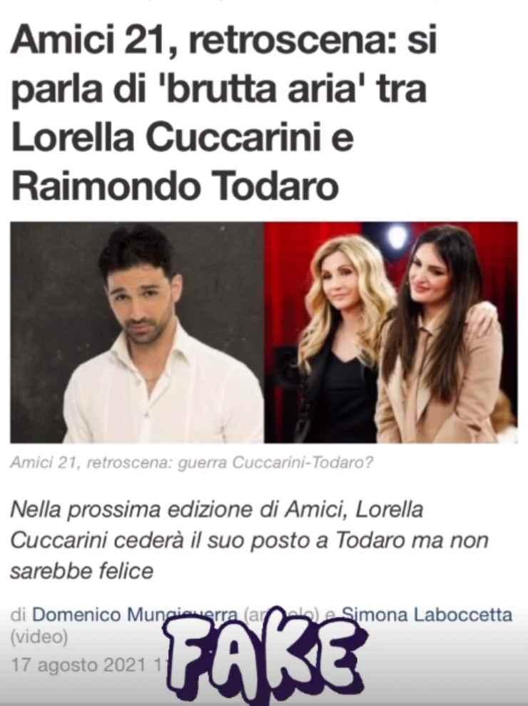 lorella cuccarini todaro