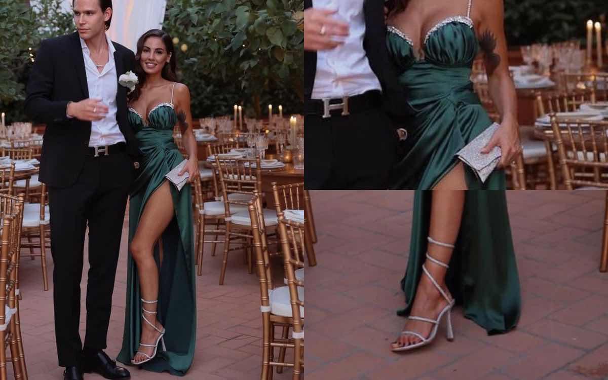 Giulia de lellis look matrimonio scarpe quanto costano