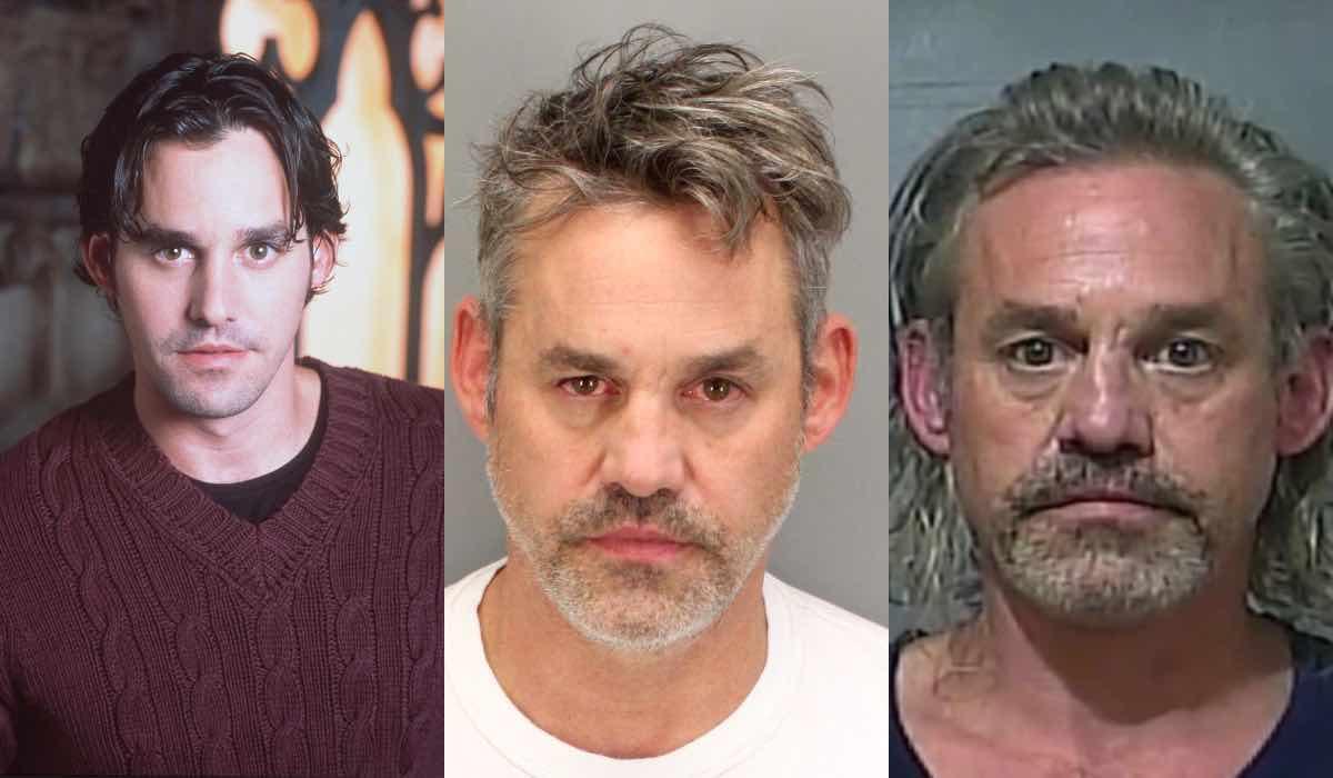 Nicholas Brendon arresto Buffy foto segnaletica