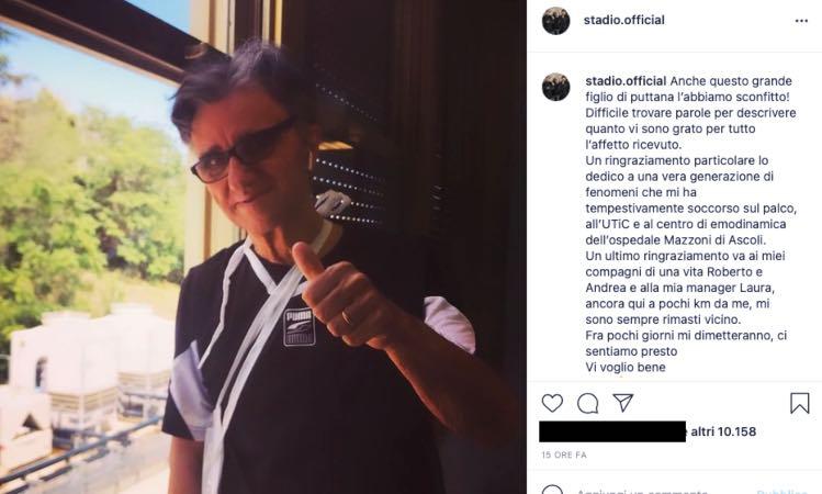 Gaetano Currieri sta meglio, rassicura i fan: la forza nelle sue parole