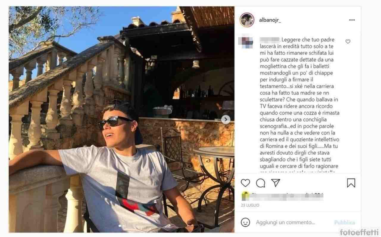 albano jr Instagram