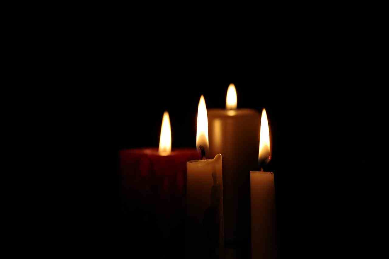 candele lutto