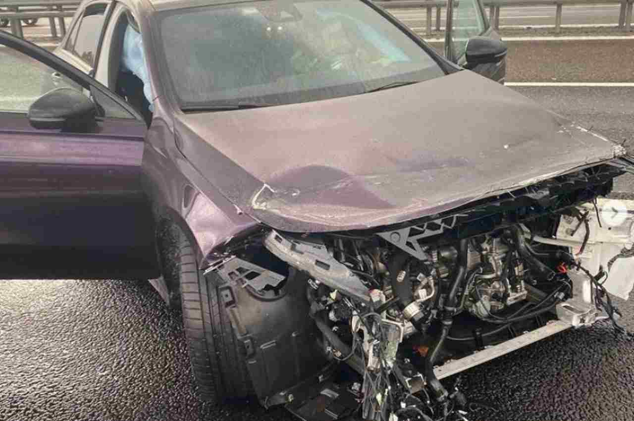 tedua incidente auto foto