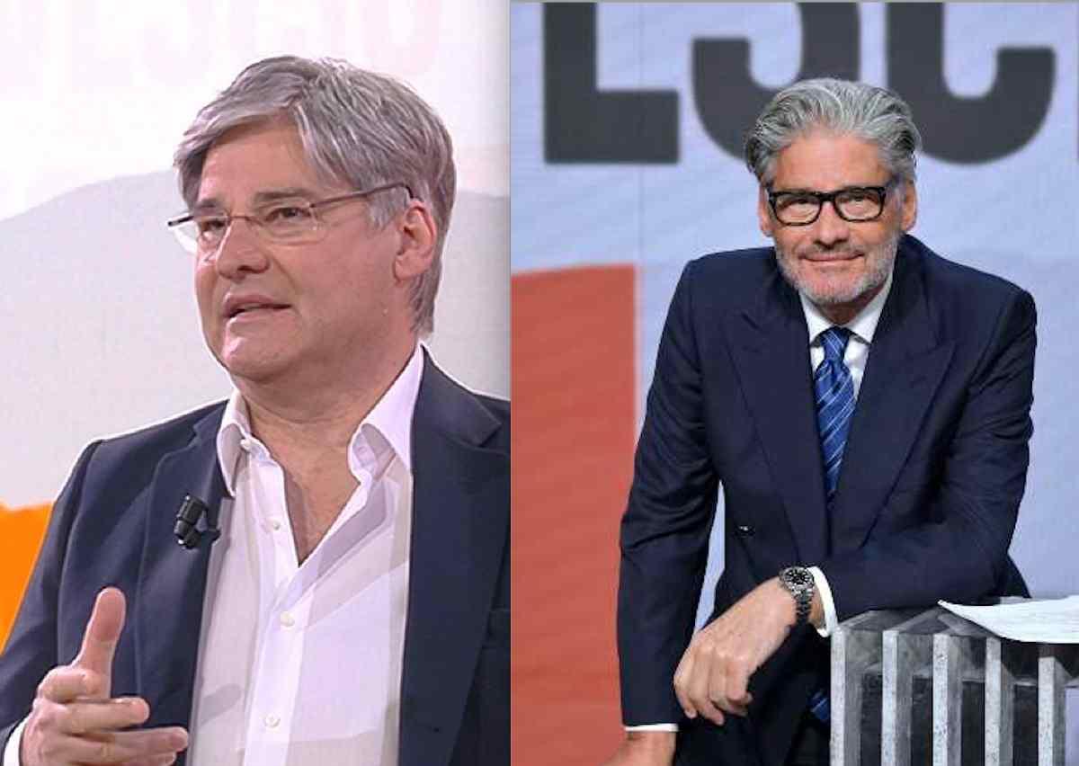 Paolo Del Debbio prima e dopo