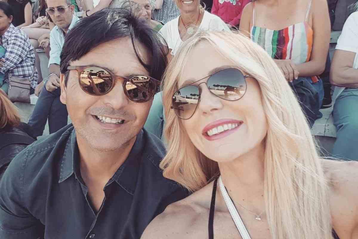 Stefano Orfei marito Brigitta Boccoli
