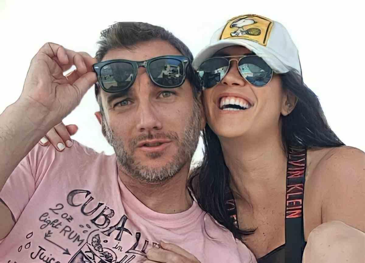Claudia Ruggeri e marito