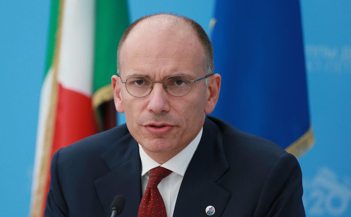 Enrico Letta Candidato Siena