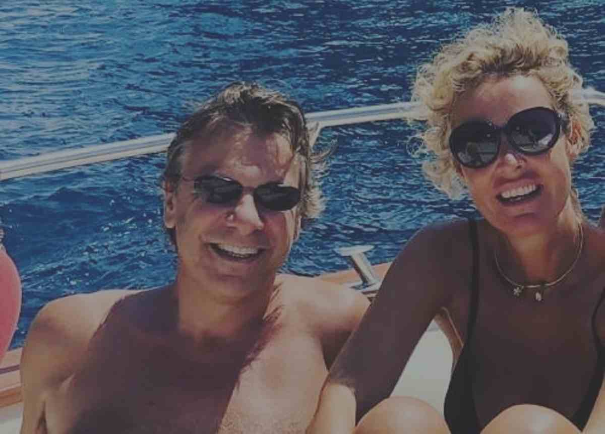 Nicola Porro e moglie