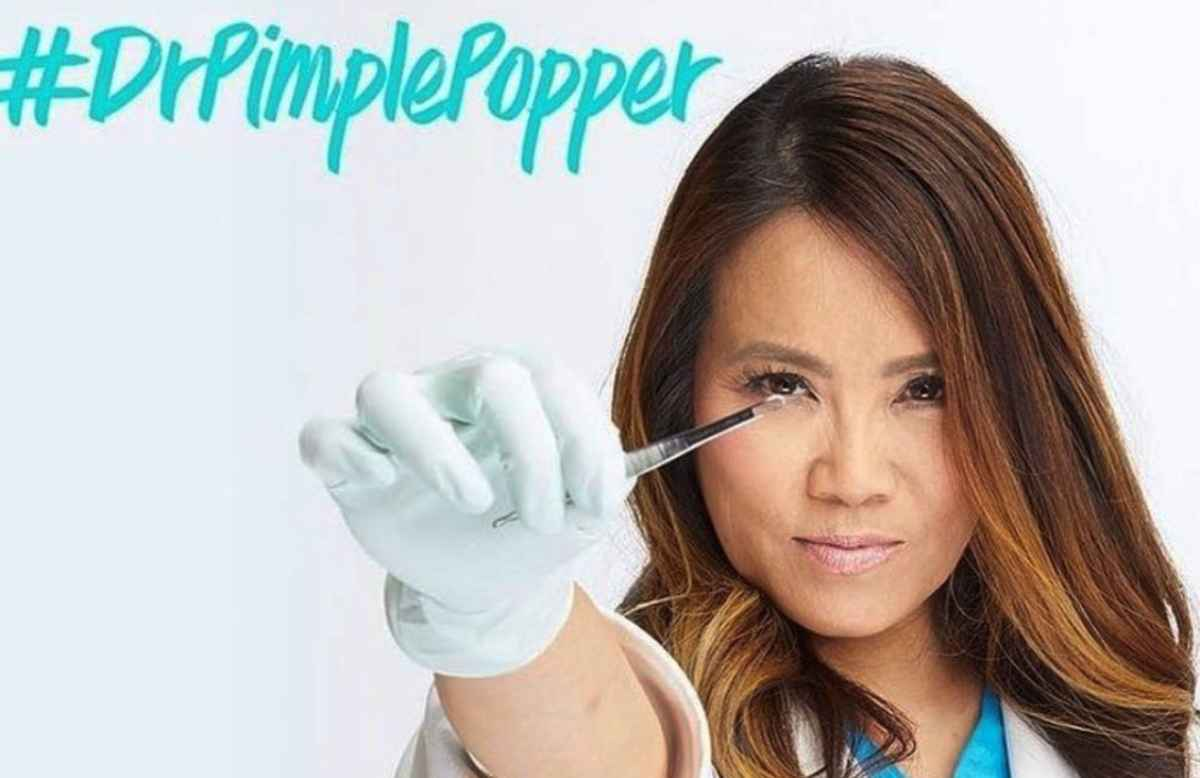 dr pimple popper video